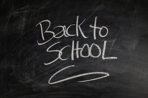 Starting secondary school - back to school image